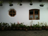 Hotel Santo Tomas - Chichicastenango - my room from the back