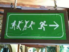 This way to the dance party