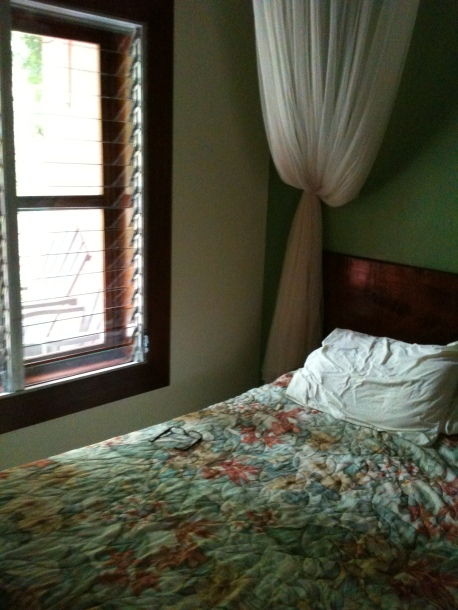 Room at the Jungle Lodge, Tikal