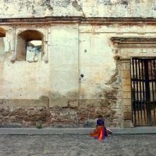Street vendor, Antigua, Guatemala