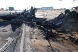 Tanker fire, Main Street, Hesperia