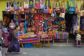 KAT MINER SPECIAL TO THE DAILY PRESS Guatemala is full of color, everywhere you go. From the native dress to the buildings to the wares for sale.