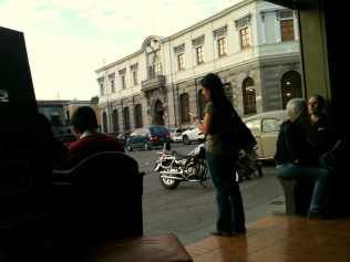Favorite hangout from &Cafe in Xela