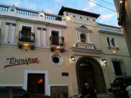 Hotel Bonifaz Xela.