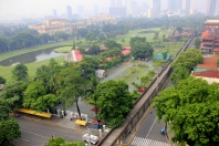 View from Bayleaf, Intramuros, Manila