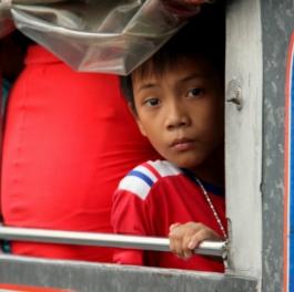 Jeepney passenger
