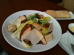 Chicken Ceaser Salad from the Hyatt, Manila