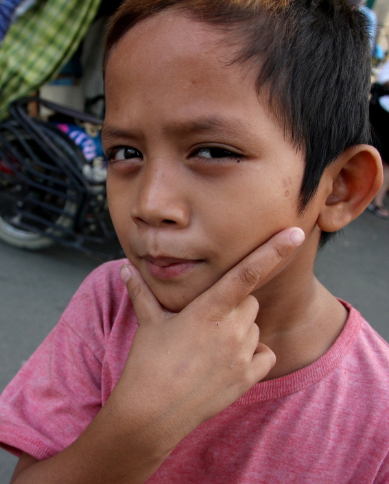 THE hand gesture to use in the Philippines when having your photo taken.