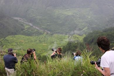 Shooting at Kiltipan viewpoint