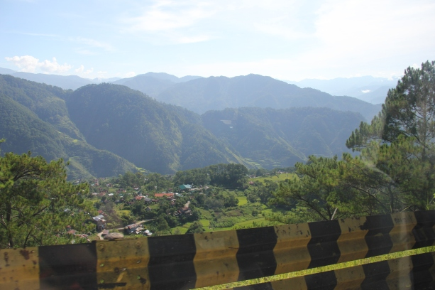 View along Halsema Highway